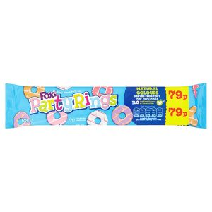 Fox's Party Rings 125g