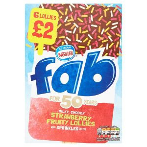 Nestle Fab Ice Lollies