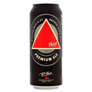 Bass Premium Ale  24 x 500ml cans