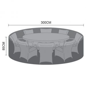 Cover For Large 8 Seat Round Dining Set