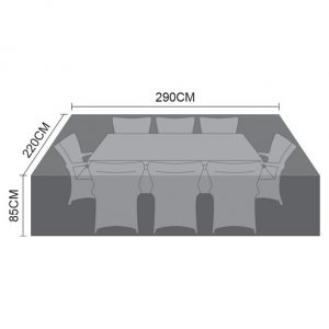 Cover For Large 8 Seat Rectangular Dining Set