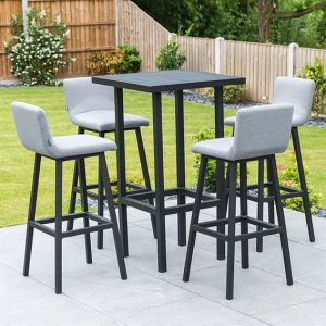 Chino 4 Seat Bar Set - Flanelle