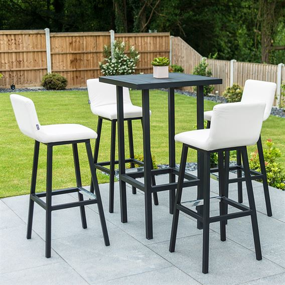Chino 4 Seat Bar Set - Canvas
