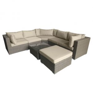 Nova Heritage Hampton Corner Sofa Set - Willow