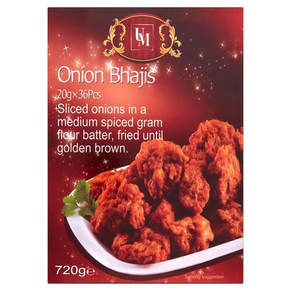 UM Onion Bhajis x 36