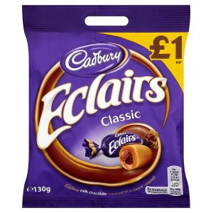 Cadbury Eclairs Classic Chocolate Bag
