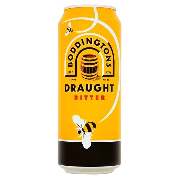 Boddingtons Draught Bitter 24 x 500ml cans