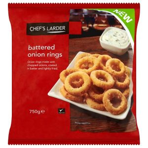 Chef's Larder Battered Onion Rings