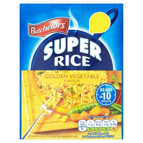 Batchelors Super Rice Golden Vegetable Flavour
