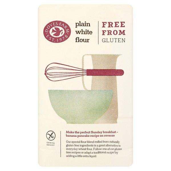 Doves Farm Free From Gluten Plain White Flour