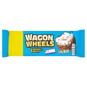 Jammie Wagon Wheels - Individually Wrapped x 6
