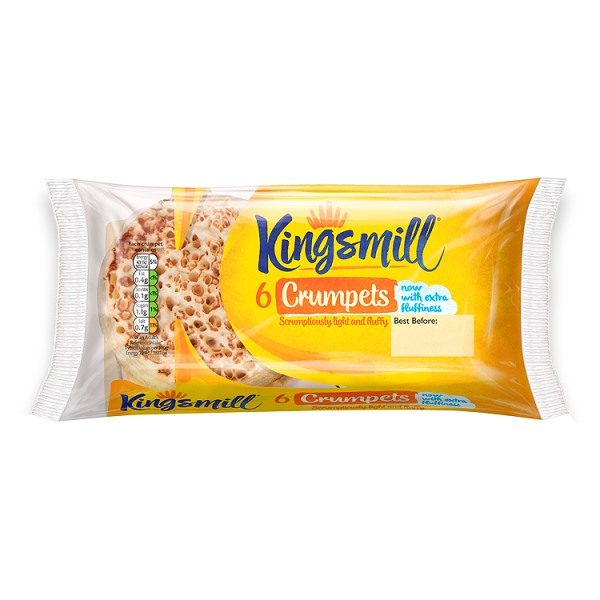Kingsmill 6 Crumpets