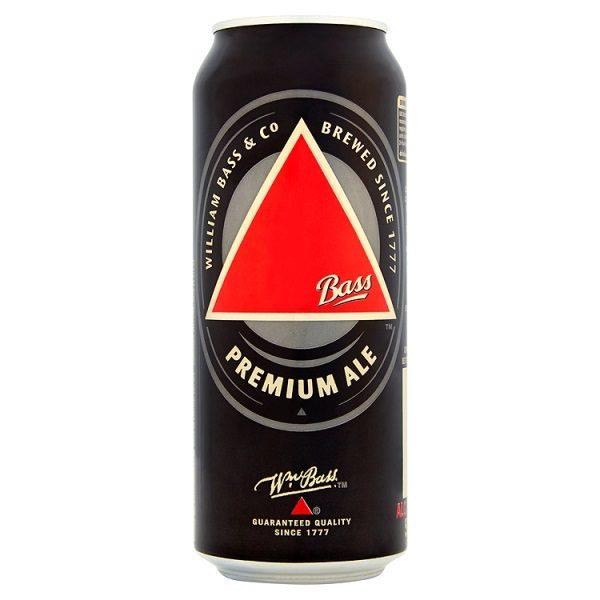 Bass Premium Ale  24 x 500ml cans