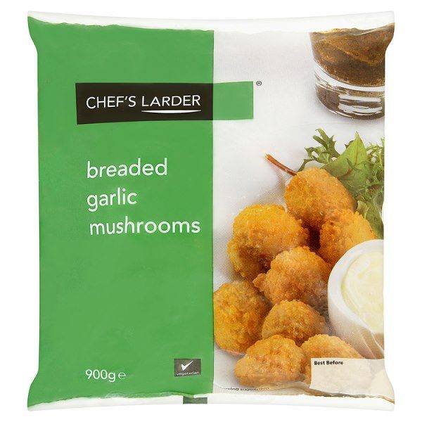 Chef's Larder Breaded Garlic Mushrooms